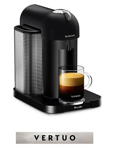 Nespresso VertuoLine Coffee and Espresso Machine-BLACK-One Size