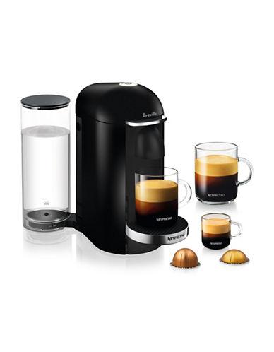 Nespresso VertuoPlus Deluxe Coffee Machine-BLACK-One Size