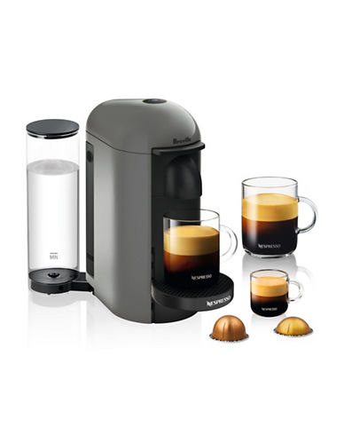Nespresso VertuoPlus Coffee Machine-GREY-One Size