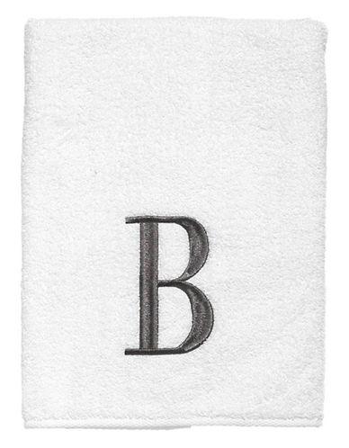 Avanti Monogrammed Fingertip Towel-J-Finger Tip Towel