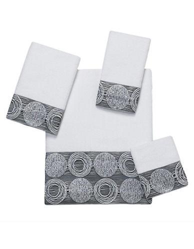 Avanti Galaxy Cotton Fingertip Towel-WHITE-Finger Tip Towel