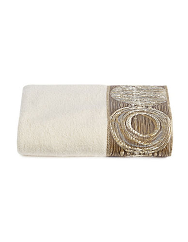 Avanti Galaxy Cotton Hand Towel-IVORY-Hand Towel