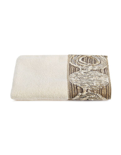 Avanti Galaxy Cotton Fingertip Towel-IVORY-Finger Tip Towel