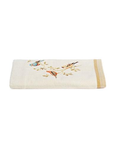 Avanti Gilded Birds Cotton Bath Towel-IVORY-Bath Towel