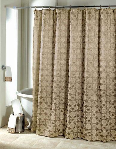Avanti Galaxy Gold Shower Curtain-GOLD-One Size