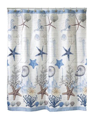 Avanti Antigua Seaside Shower Curtain-BLUE-One Size