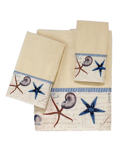 Avanti Antigua Cotton Fingertip Towel-IVORY-Finger Tip Towel