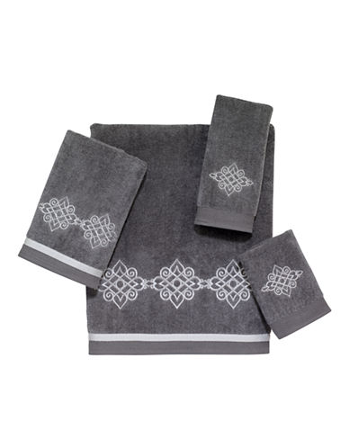 Avanti Riverview Cotton Hand Towel-NICKEL-Hand Towel