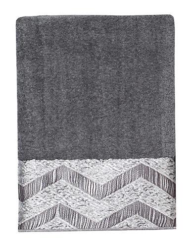 Avanti Chevron Galaxy Polyester Hand Towel-NICKEL-Hand Towel
