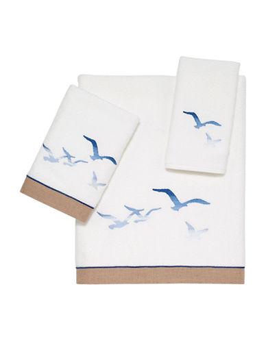 Avanti Seagulls Hand Towel-WHITE-Hand Towel