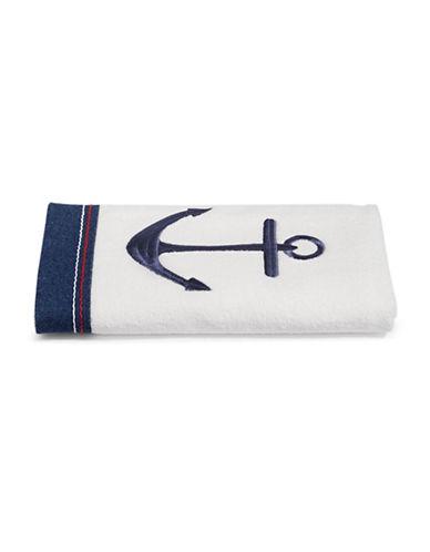 Avanti Anchor Hand Towel-NAVY-Hand Towel