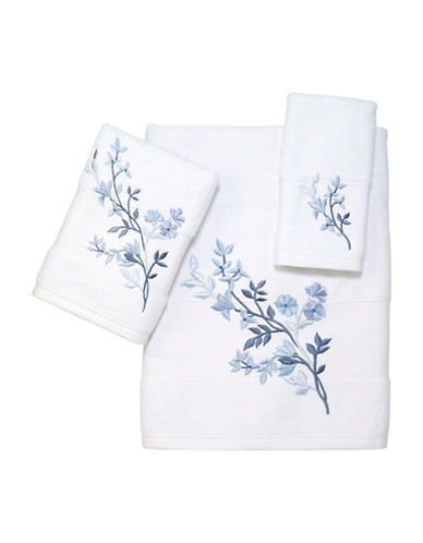 Avanti Bancroft Fingertip Towel-BLUE-Finger Tip Towel