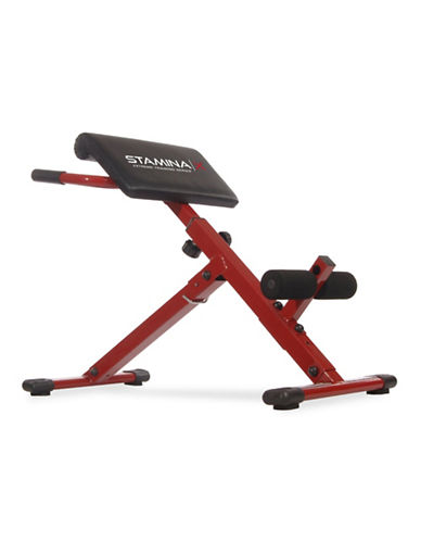 Stamina Stamina X Hyper Bench-RED-One Size