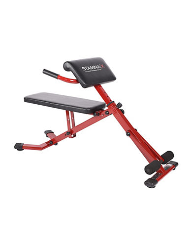 Stamina Stamina X Ab Hyper Bench-RED-One Size