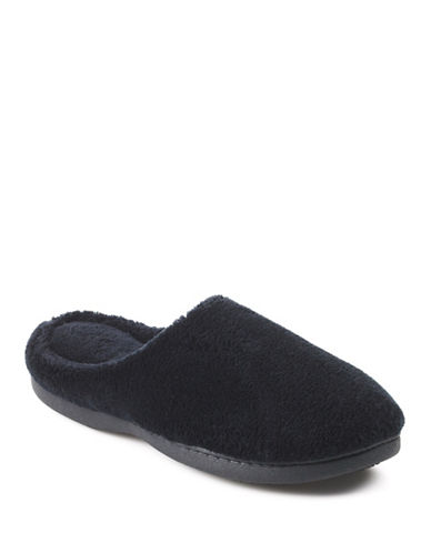 Isotoner Microterry Clog-BLACK-Small