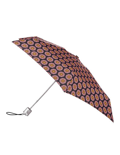 Totes Manual Signature Mini Compact Umbrella-FOULARD-One Size