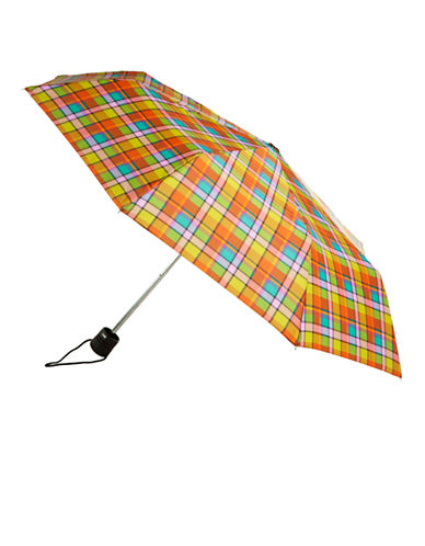 Totes Totes Manual Classic Mini Compact Umbrella-CAMBRIDGE TARTAN-One Size