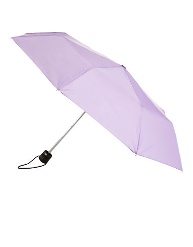 Totes Totes Manual Classic Mini Compact Umbrella-LILAC-One Size