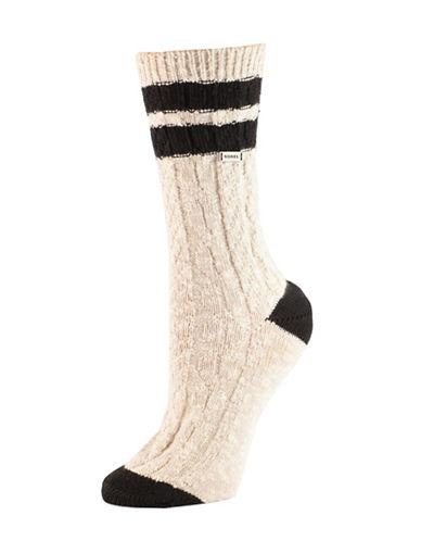 Sorel Varsity Stripe Socks-ASSORTED-One Size