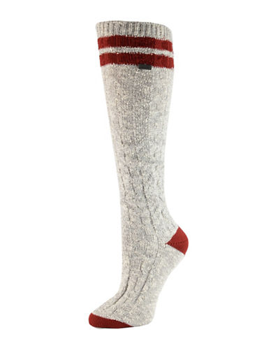 Sorel Varsity Stripe Knee High Socks-ASSORTED-One Size