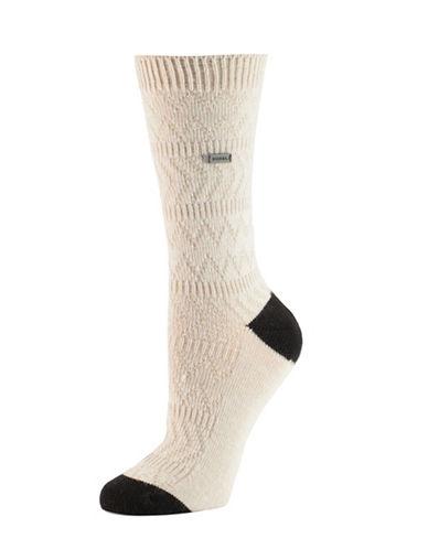 Sorel Chevron Crew Socks-ASSORTED-One Size