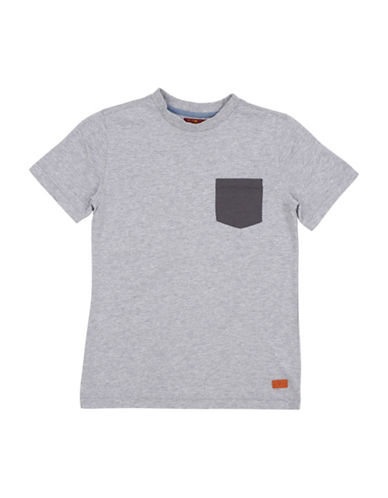 7 For All Mankind Short sleeve tee-GREY-Medium 89948644_GREY_Medium