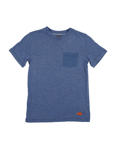 7 For All Mankind Short sleeve tee-BLUE-Large 89945003_BLUE_Large