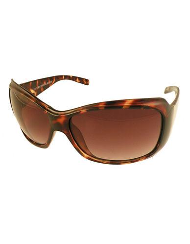 Edit By Jeanne Beker Elsa Oversize Sunglasses-TORTOISE-One Size