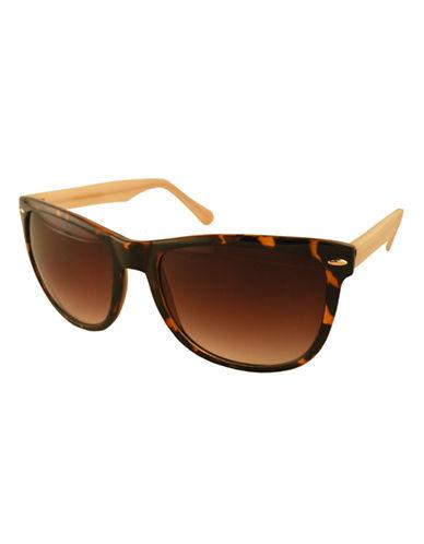 Edit By Jeanne Beker Sophie Wayfarer Sunglasses-TORTOISE/NUDE-One Size