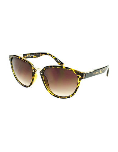 Edit By Jeanne Beker Miranda Cat-Eye 55mm Sunglasses-BROWN-One Size