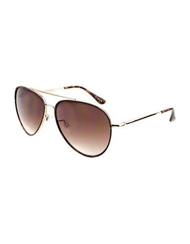 Edit By Jeanne Beker Jb-s17-Carlita Aviator Tortoiseshell Sunglasses-BROWN-One Size