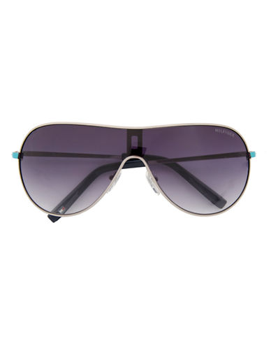 Tommy Hilfiger UN002-GUNMETAL/TURQUOISE-One Size