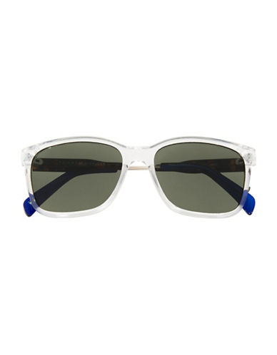 Tommy Hilfiger Rounded 54mm Square Sunglasses-CLEAR-One Size