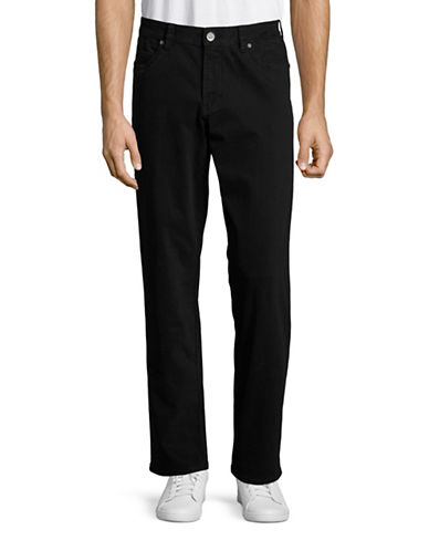 Tommy Bahama Santiago Authentic-Fit Chinos-BLACK-32X32