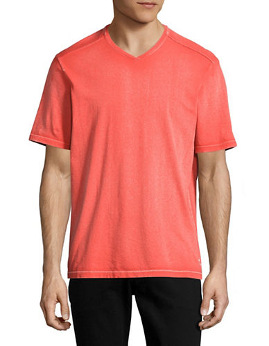 Tommy Bahama Kahuna Vee T-Shirt-ORANGE-X-Large