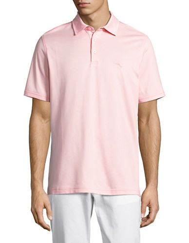 Tommy Bahama On Par Spectator Polo-OXFORD PINK-X-Large