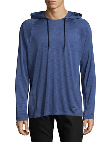 Tommy Bahama Surf Tide Long Sleeve Hoodie-BLUE-Large