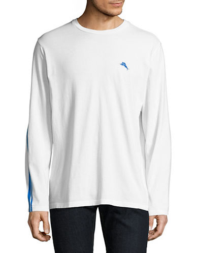 Tommy Bahama Santorini Skyline Long-Sleeve T-Shirt-WHITE-Small 89068887_WHITE_Small