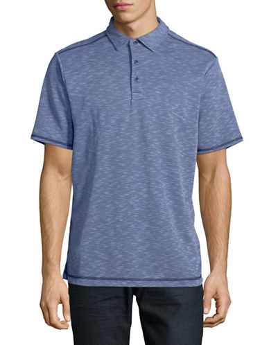 Tommy Bahama New Double Tempo Polo-BLUE-Large