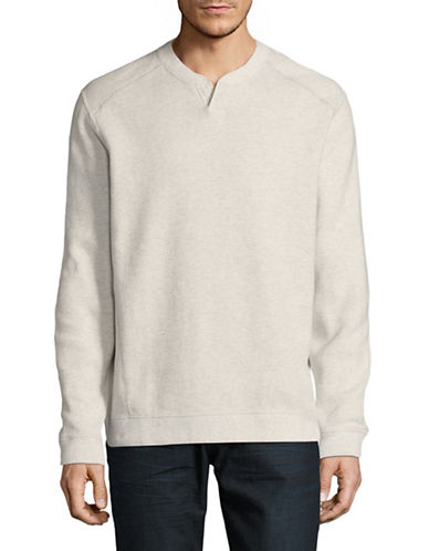 Tommy Bahama Reversible Cotton Pullover-WHITE-Small