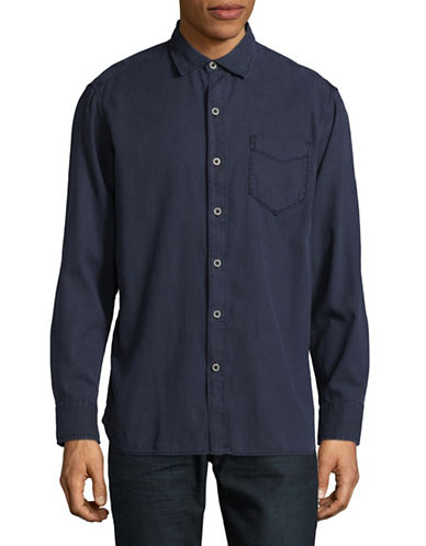 Tommy Bahama Casual Long Sleeve Button Shirt-BLUE-Large