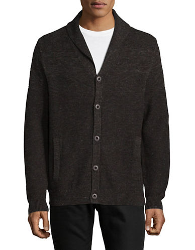 Tommy Bahama Touriya Knit Cardigan-BROWN-Small