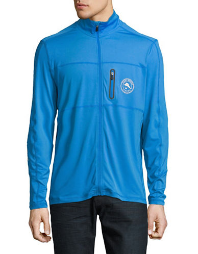 Tommy Bahama Kokoa Beach Full Zip Jacket-BLUE-X-Large