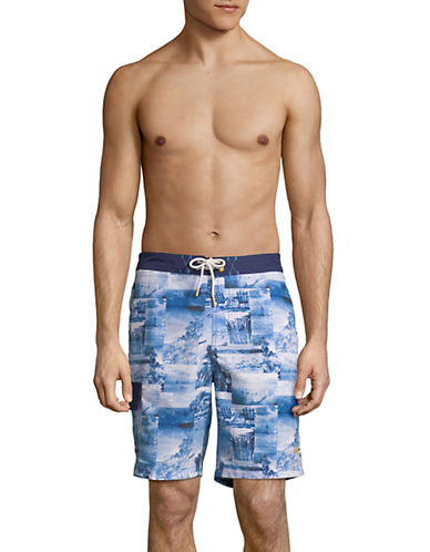 Tommy Bahama Baja Coast Board Shorts-BLUE-X-Large 90028653_BLUE_X-Large