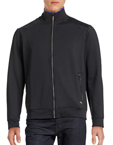 Tommy Bahama Soft-Lined Combo Track Jacket-BLACK-Small 88594204_BLACK_Small