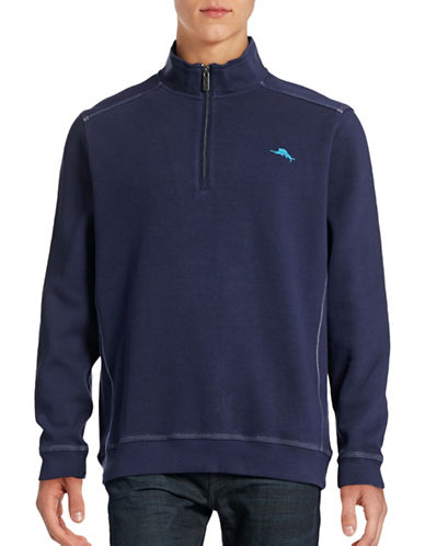 Tommy Bahama Nassau Half-Zip Sweater-MARITIME-Small