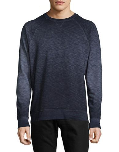 Tommy Bahama Dip-Dye Raglan Sweatshirt-NAVY-Medium