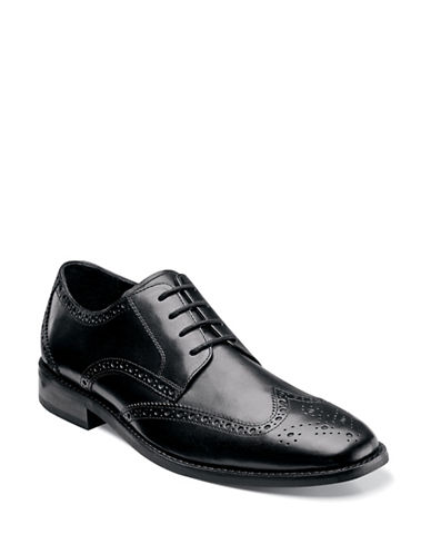 Florsheim Castellano Wingtip Oxford-BLACK-9.5