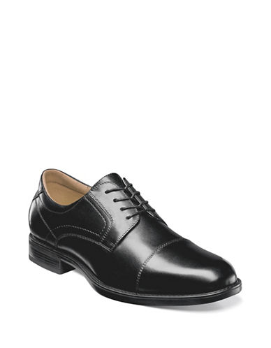 Florsheim Midtown Cap Toe Oxford Shoes-BLACK-9.5