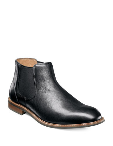 Florsheim Frisco Leather Gore Boots-BLACK-11.5